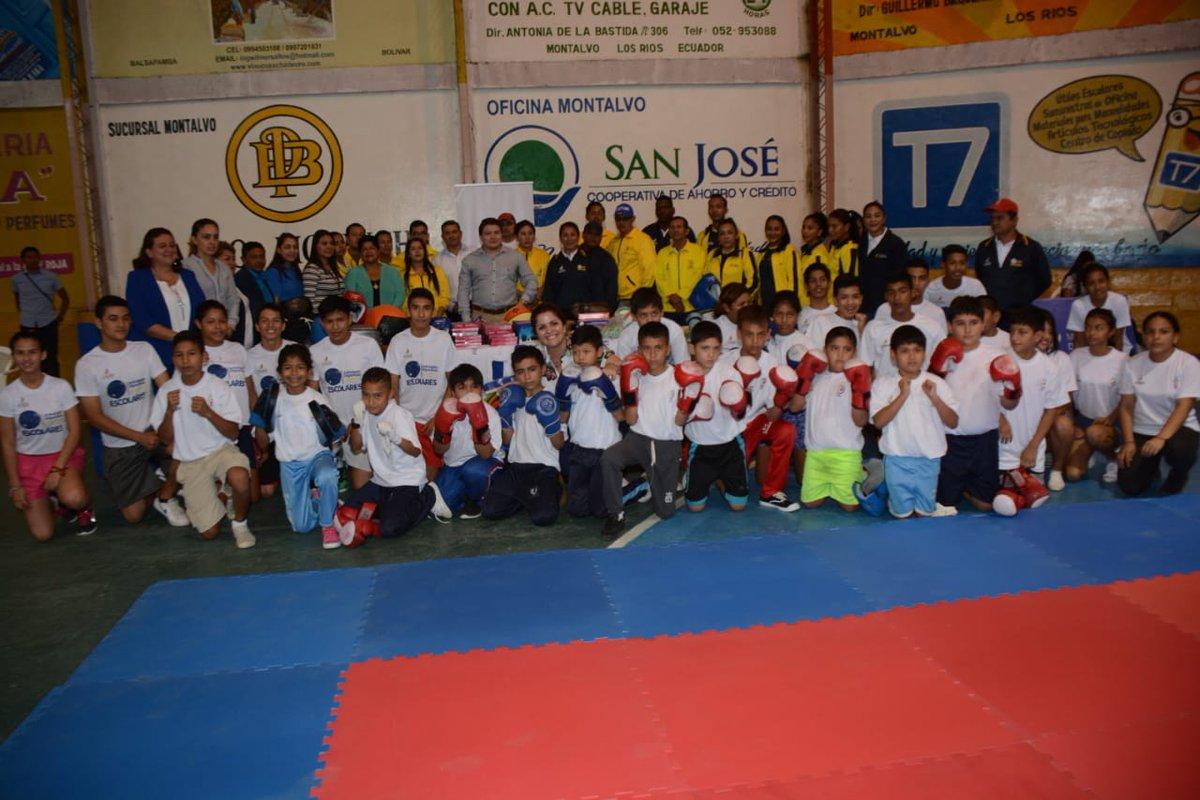 Los Ríos recibió implementación deportiva - Fedenador 3f3ab23782f55