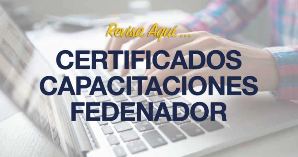 Capacitación Certificados