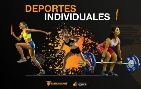 Afiche 1-Deportes Individuales I